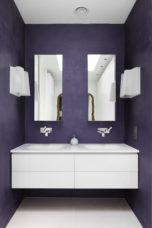 E2 Architecture + Interiors:  tarz Banyo