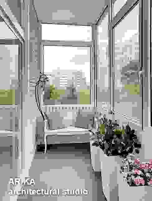 Modern Terrace by AR-KA architectural studio Modern