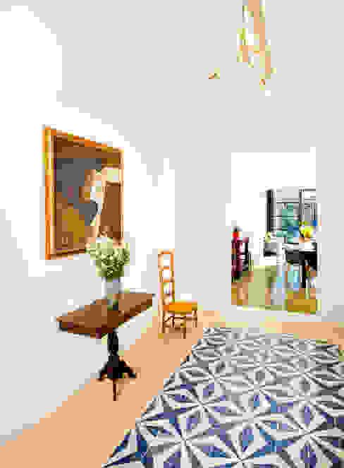 Коридор, прихожая и лестница в модерн стиле от Taller Estilo Arquitectura Модерн