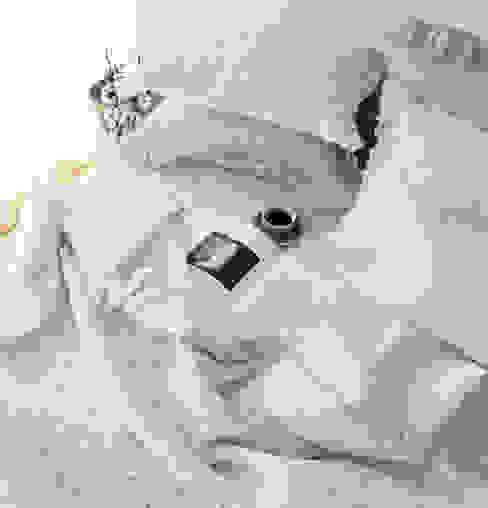 메종드룸룸 Camera da letto in stile rustico