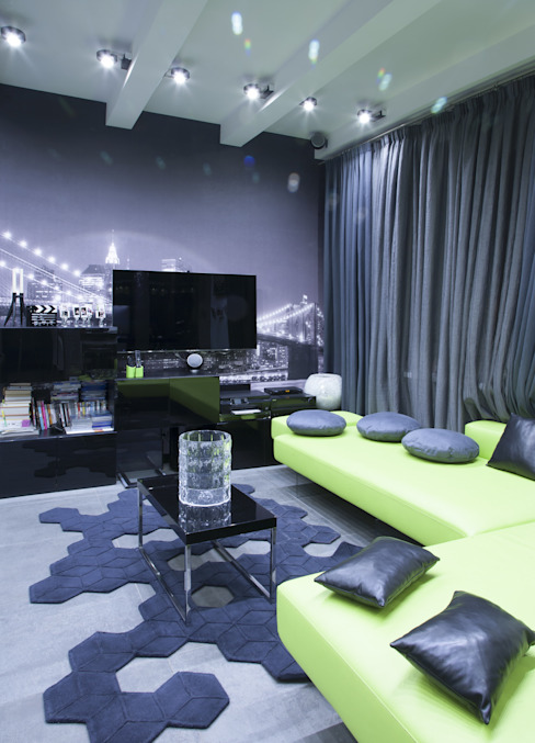 minimalist  by Архитектурно-дизайнерское бюро Натальи Медведевой 'APRIORI design', Minimalist
