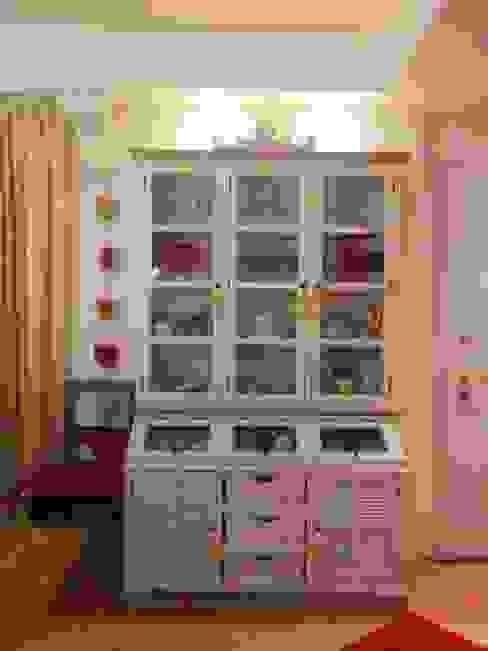 MARA GAGLIARDI 'INTERIOR DESIGNER' 廚房收納櫃與書櫃