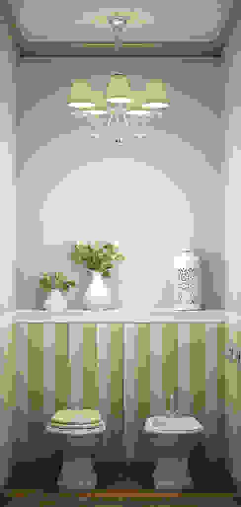 Eclectic DesignStudio Country style bathrooms