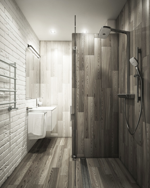 Minimalist style bathroom by Eclectic DesignStudio Minimalist