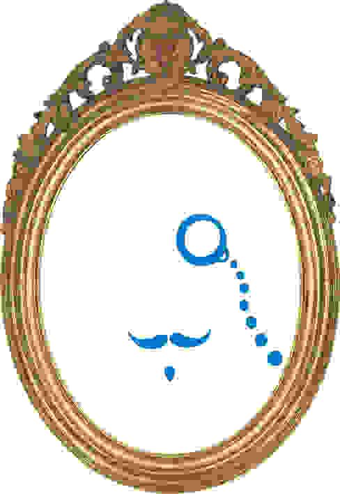 stickers decorativi di Alessia Rigolon Moderno