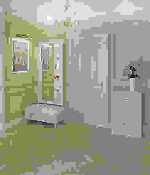 Холл Коридор, прихожая и лестница в классическом стиле от homify Классический