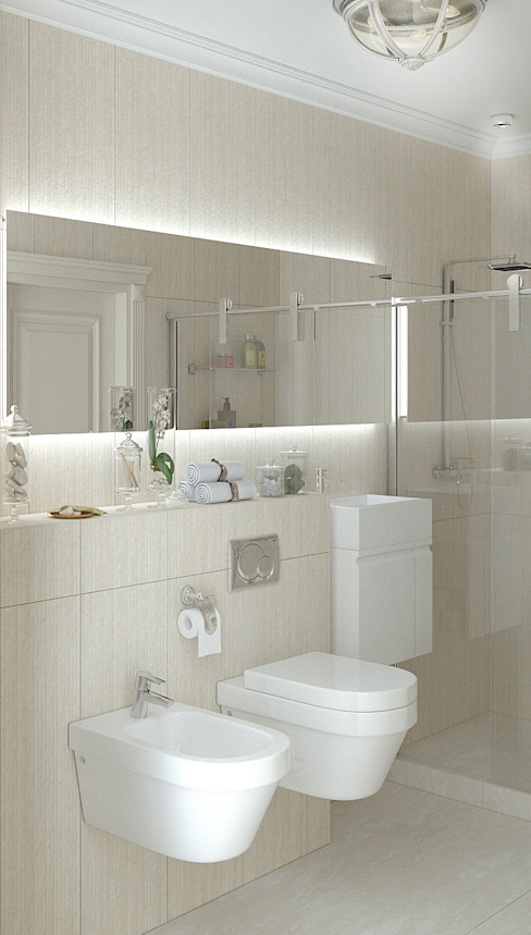 homify Classic style bathroom