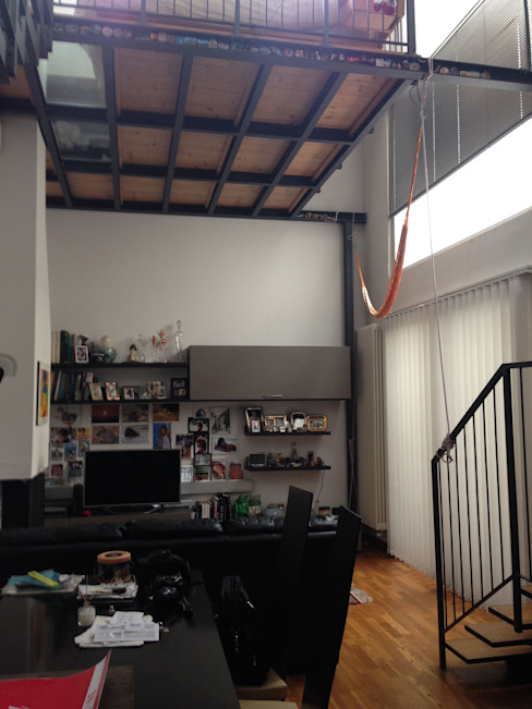 Salon moderne par studio architettura terzaghi Moderne