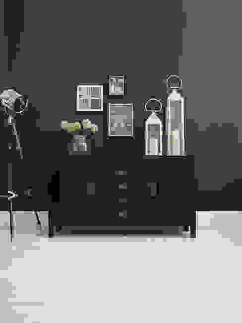 Small Canton Black Sideboard от LOMBOK Азиатский