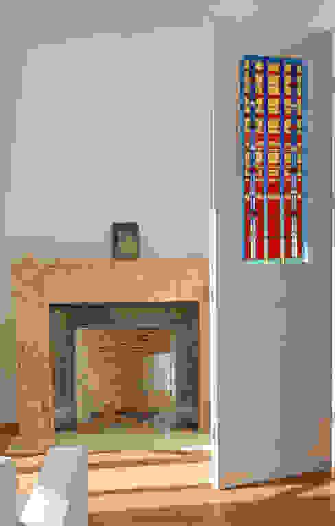Ramen & deuren door Catherine Nafziger - Atelier Kats Vitrail,