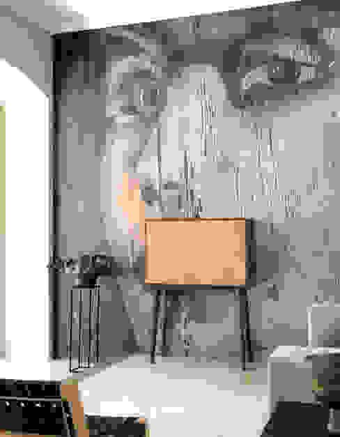 de estilo  por Mon Entrée Design.com , Moderno Madera Acabado en madera