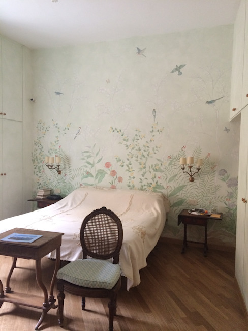 A mano libera idee per decorare le pareti in modo unico for Decorare muro stanza