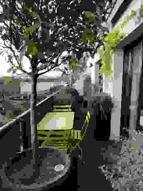 FIORELLINO paysagiste Classic style balcony, veranda & terrace