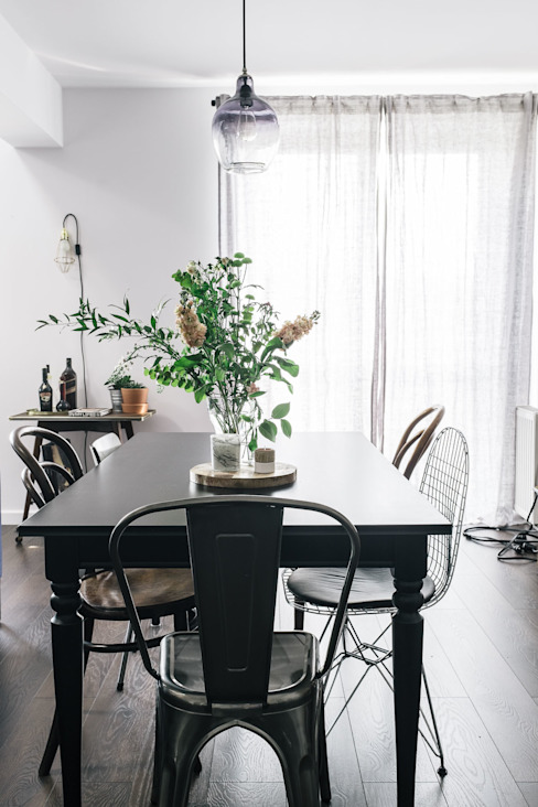 Eclectic style dining room by Odwzorowanie Eclectic