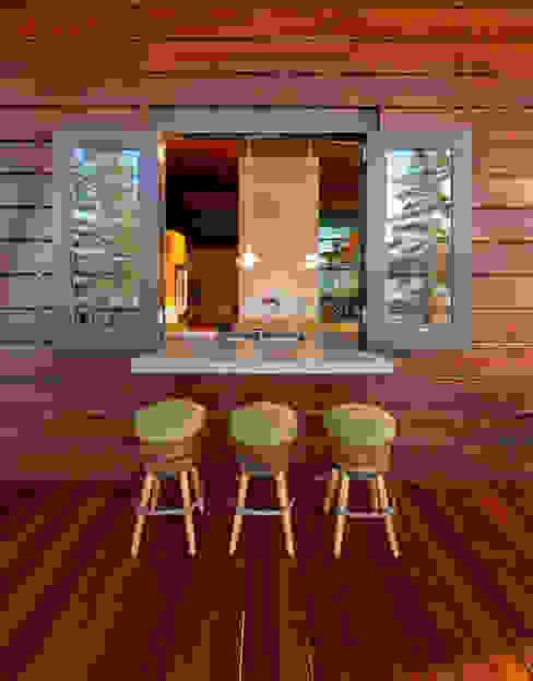 Coeur D'Alene Residence Modern Terrace by Uptic Studios Modern
