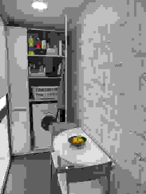 Cocina E&E. lavadero Cocinas de estilo moderno de RENOVA INTERIORS Moderno