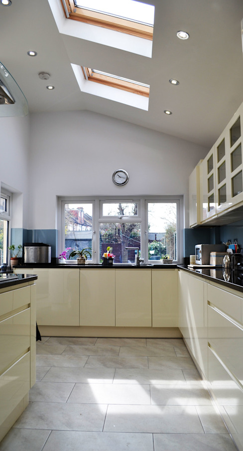 Kitchen - As Built:  Kitchen by Arc 3 Architects & Chartered Surveyors