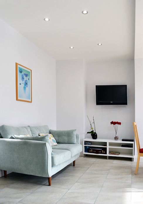 Living Room - As Built Modern living room by Arc 3 Architects & Chartered Surveyors Modern