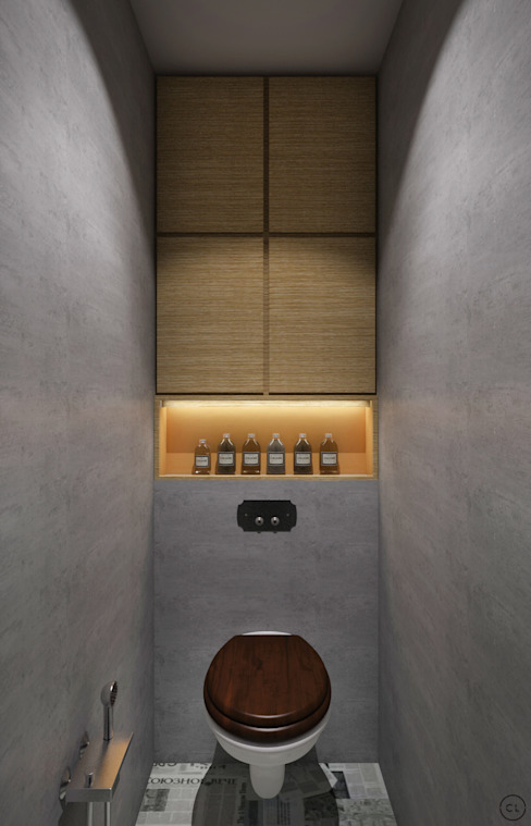 Средиземноморский лофт для молодой семьи Ванная в стиле лофт от Circle Line Interiors Лофт