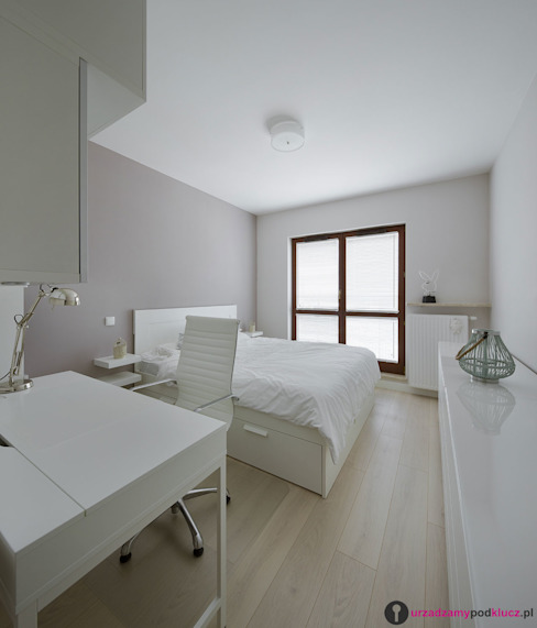 Modern Bedroom by Urządzamy pod klucz Modern