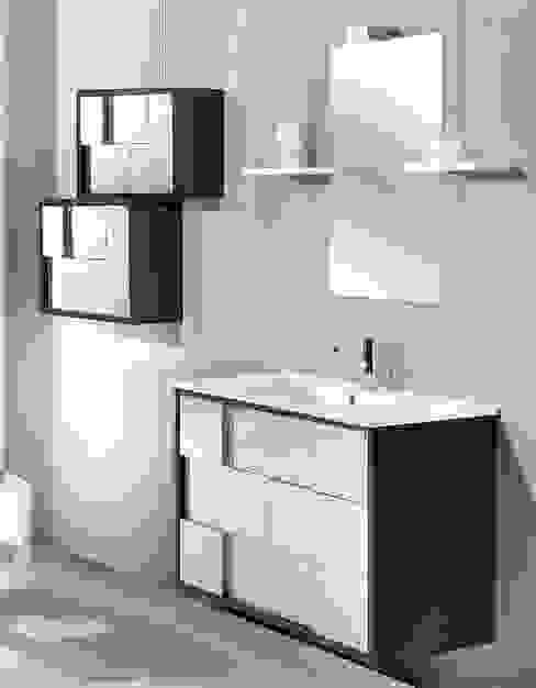 Muebles de baño modernos de Bañoweb Moderno