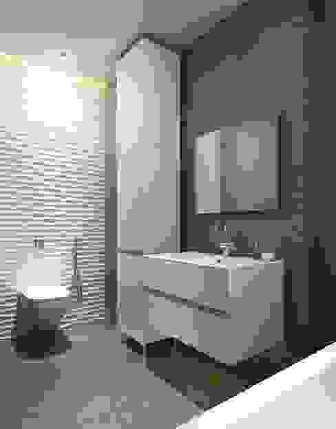 Decorative panles MDF 3D 모던스타일 욕실 by Luxum 모던