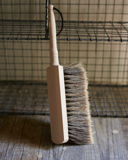 Beechwood split horse hair soft brush: country  by brush64 , Country
