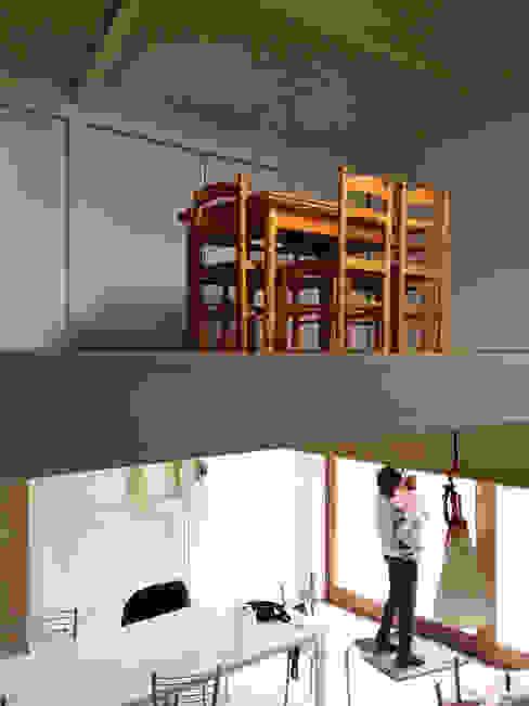 Casa de campaña Comedores de estilo escandinavo de Arrokabe arquitectos Escandinavo