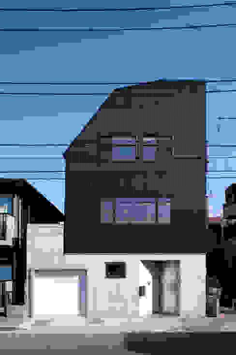 目黒の家/ファサード ミニマルな 家 の アトリエ・ノブリル一級建築士事務所 ミニマル