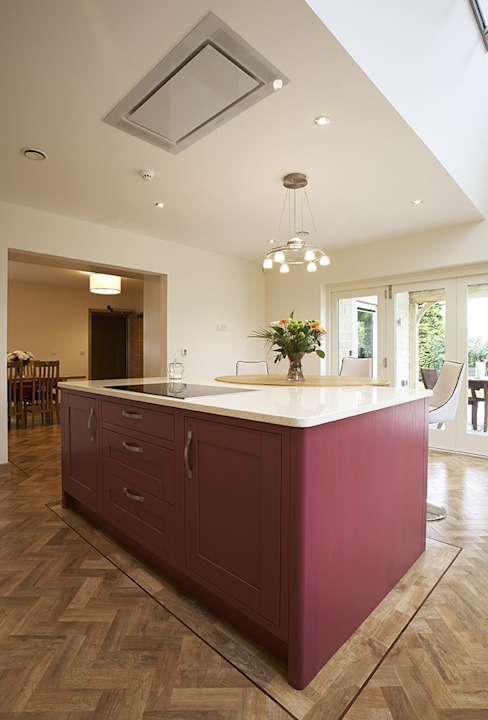 Modern Kitchen in Wakefield at Sandal Cuisine moderne par Twenty 5 Design Moderne