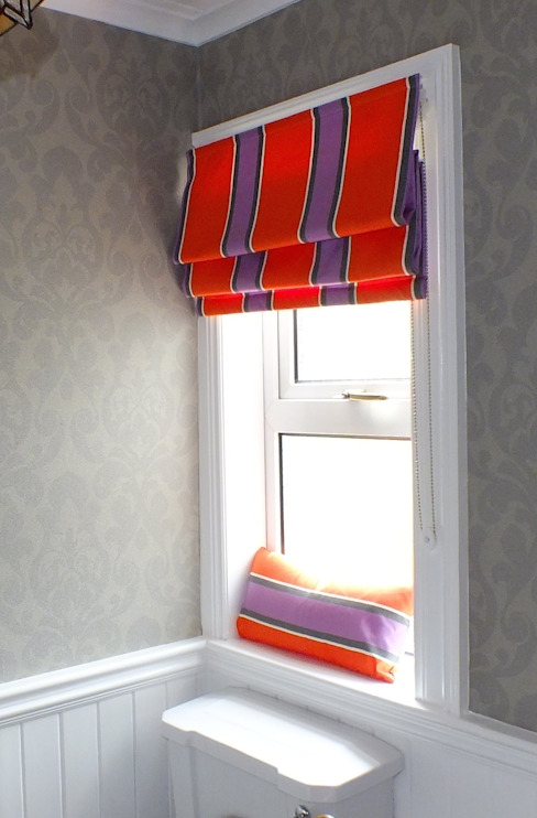 ROMAN BLIND:  Bathroom by NEAT PLEAT,