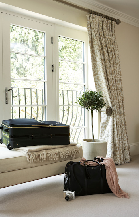 A House On The River Country style bedroom by Emma & Eve Interior Design Ltd Country