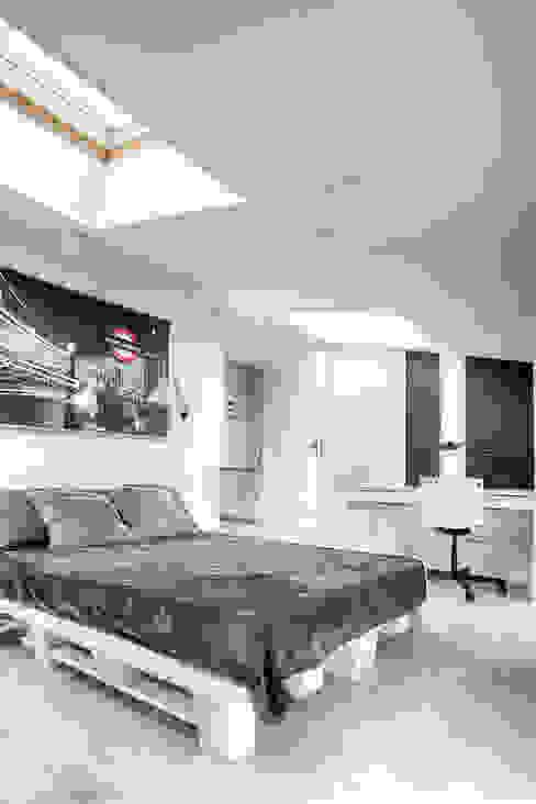 Pokój studenta Skandynawska sypialnia od DP Concept Skandynawski