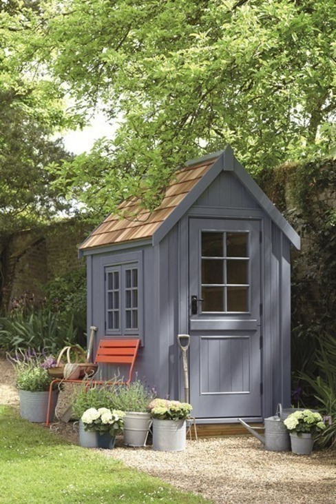 Potting shed Klassieke tuinen van The Posh Shed Company Klassiek