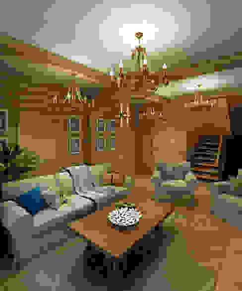 Living room by BM Architects, Scandinavian