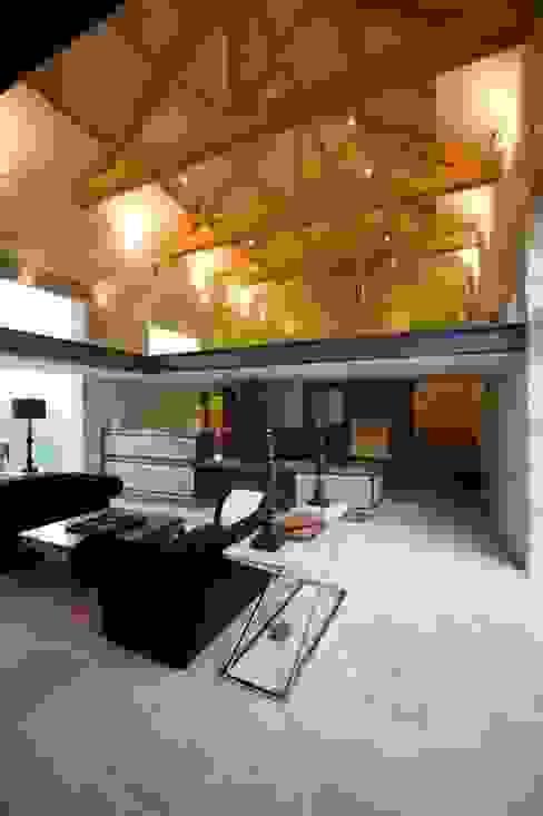 Threshing Barn Interior Wildblood Macdonald Modern living room