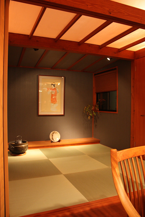 Eclectic style dining room by 株式会社一級建築士事務所ジオプラス Eclectic
