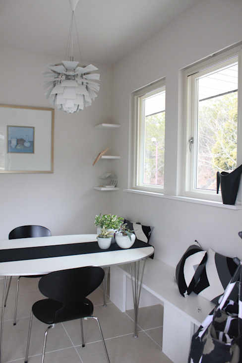 一級建築士事務所 iie design Scandinavian style media room