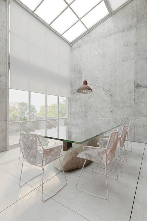 Столовая комната в стиле лофт от homify Лофт