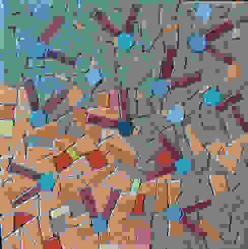 Motif réseaux Murs & Sols originaux par Lechevallier stephanie Éclectique