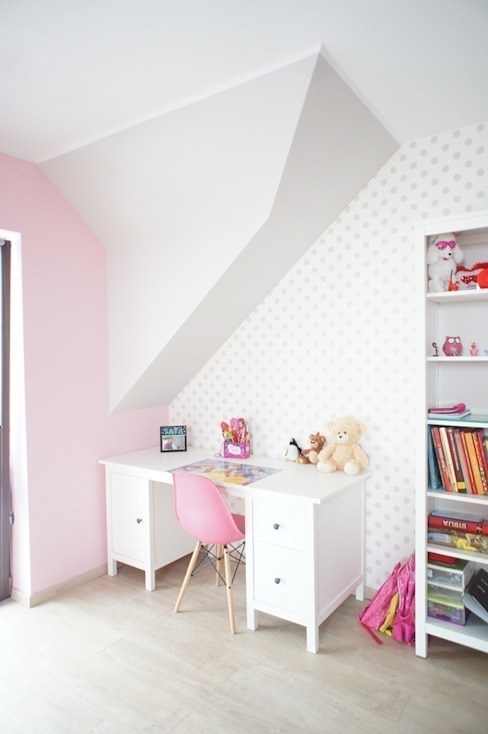 Dom jednorodzinny, Sokółka: styl , w kategorii Pokój dziecięcy zaprojektowany przez Anna Wrona,Nowoczesny