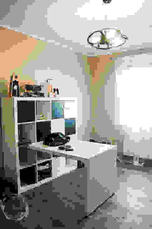 Dom pod Zambrowem Nowoczesne domowe biuro i gabinet od EnDecoration Nowoczesny