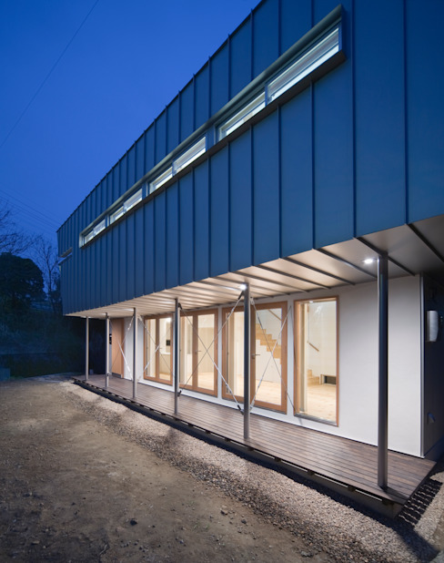 かわつひろし建築工房 Casas modernas