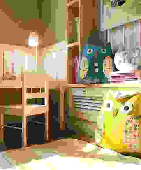 Дизайн в современном стиле 3к.кв: Детские комнаты в . Автор – MoRo, Классический