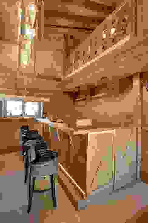 Bosc Vej s.r.l. Casas de banho rústicas