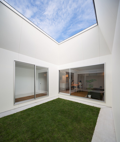Jardines de estilo moderno de 末永幸太建築設計 KOTA SUENAGA ARCHITECTS Moderno