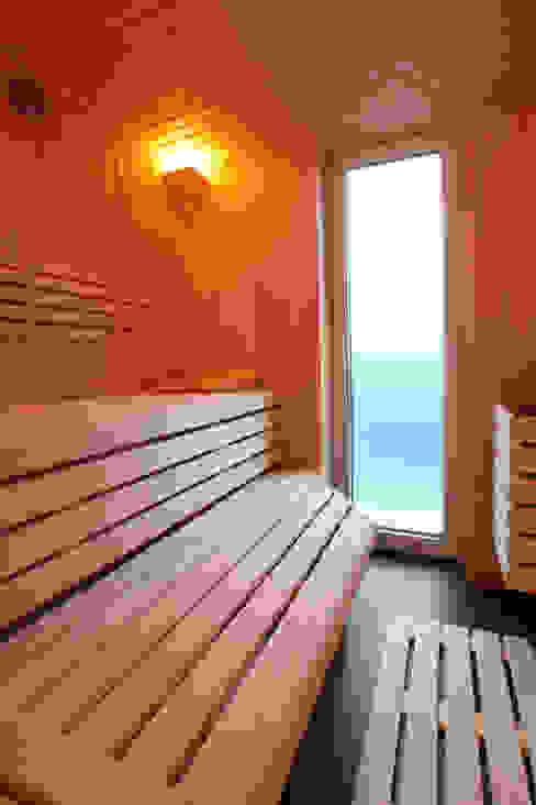 Spa de estilo  por Architektur Jansen, Minimalista
