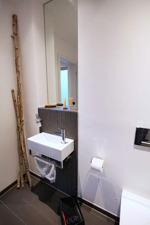 Baños de estilo  por Architektur Jansen, Minimalista