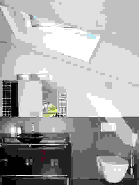 EFH Bauert, Dättlikon Moderne Badezimmer von Binder Architektur AG Modern