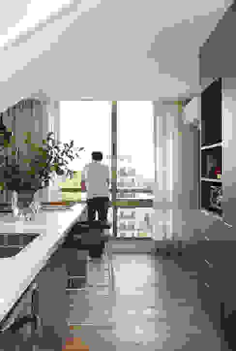 Dapur Modern Oleh MANDRIL ARQUITETURA E INTERIORES Modern